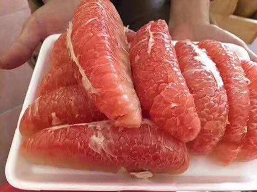火爆朋友圈的泰国红宝石青柚了解一下 其他柑橘新品种 第2张